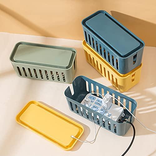 URFEDA Caja de almacenamiento de cable Manguitos para cable Resistente al calor...
