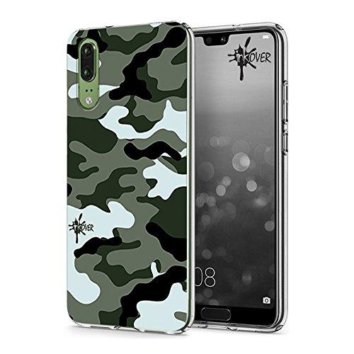 Inkover Soft Case Inkover Design Camouflage Design Militare Mimetico Cover Huawei P8 LITE - Inkover - Custodia 0.6mm sottile morbida in Tpu flessibile Resistente, leggero e indeformabile Controllo completo porte, tasti e funzionalità Protegge da polv...