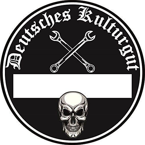 Deutsches Kulturgut Auto Aufkleber Sticker Diesel Feinstaub Umwelt Plakette JDM Tuning TÜV LKW Lustig Fun 2 Stück! Motiv für außen!