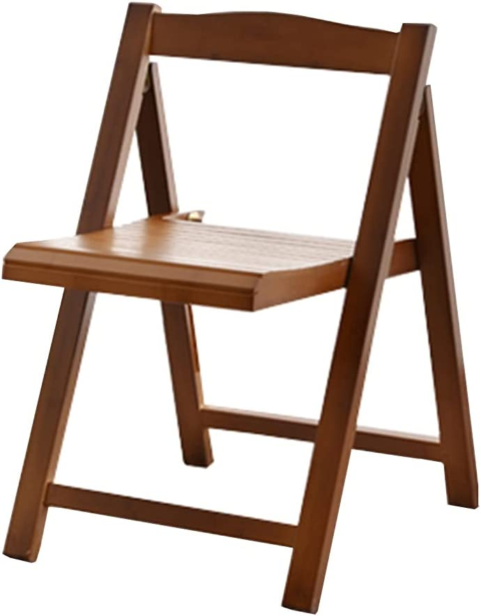 Household Folding New sales Solid Wood backrest Chair Made W of and Factory outlet Bamboo