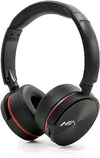 NIA Q6 High Definition FM Radio/MicroSD(TF) Card Mp3 Player Bluetooth Wireless On-Ear Headphones