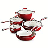 Tramontina 80110/202DS Gourmet Ceramica Deluxe Cookware Set, PFOA-...