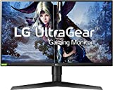 LG 27GL850-B 27 Inch Ultragear QHD Nano IPS 1ms NVIDIA G-Sync Compatible Gaming Monitor, Black