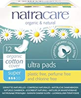 Ultra Pads Super with Wings (12's) - x 2 *Twin DEAL Pack* by Natracare