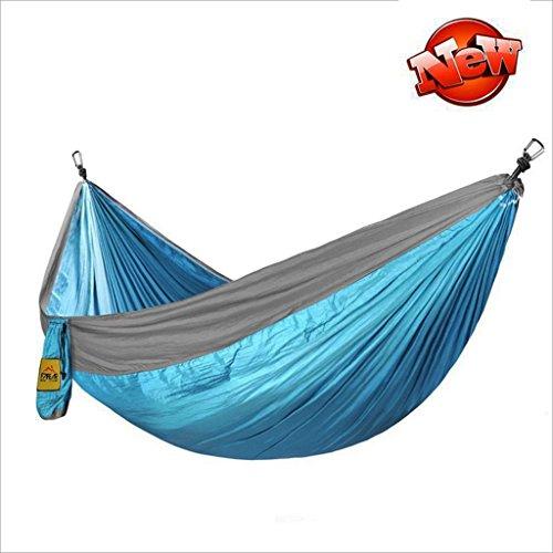 Hamacs balancelles et Accessoires Portable dortoir Double extérieur (Color : Sky Blue, Size : 280 * 180cm)
