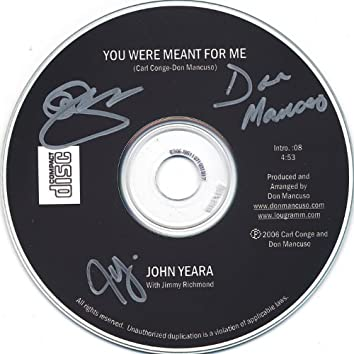 You Were Meant for Me (Limited Edition, Autographed, Cd Single)