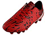 Cambridge Select Men's Lace-up Cleats Soccer Shoe,8.5,Red