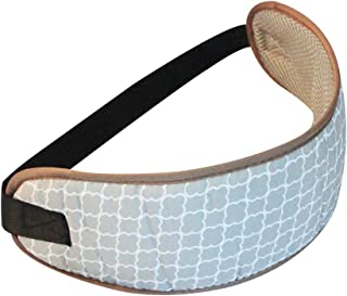 KAKIBLIN Shopping Cart Wrap Strap Belt Baby Safety Strap for Seating Infant and Toddler Highchair Chair Harness,Gray Cloud