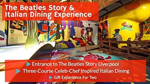 The Beatles Story und Italienisch, Dinner f?r Zwei???Beinhaltet 3-Gang-Esstisch bei Jamie 's Italian???Das perfekte Geschenk f?r Beatles Fans