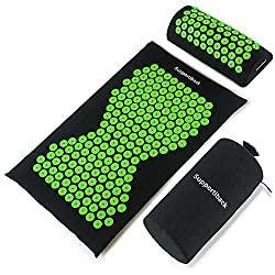 acupressure mats can reverse the feeling that your sciatic nerve pain is getting worse through pressure points on the spine