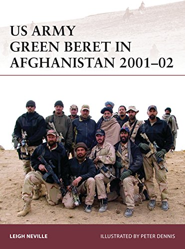 US Army Green Beret in Afghanistan 2001–02 (Warrior Book 179) (English Edition)