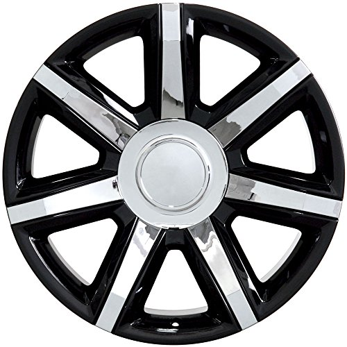 Partsynergy Replacement For 22' Rim fits 1999-2019 Cadillac Escalade Black 22x9 Aluminum Wheel