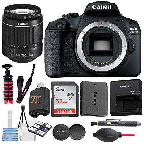 Canon EOS 2000D / Rebel T7 Digital DSLR Camera...