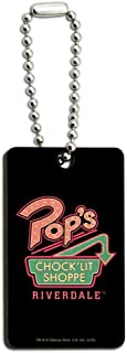 Riverdale Pops Chock'lit Shoppe Wood Wooden Rectangle Keychain Key Ring