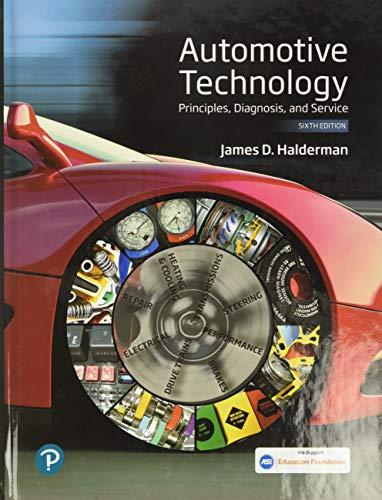 Automotive Technology: Principles, Diagnosis, and Service (Pearson Automotive Series)