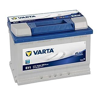 VARTA E11 Blue Dynamic Batería de coche, 574 012 068 3132, 74Ah, 680A