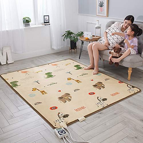 Bodenmatte Kohlenstoffkristall Mobile Fußbodenheizung Pad Erdwärme Pad Heizdecke Teppich elektrische Fußbodenheizung Matte nach Hause