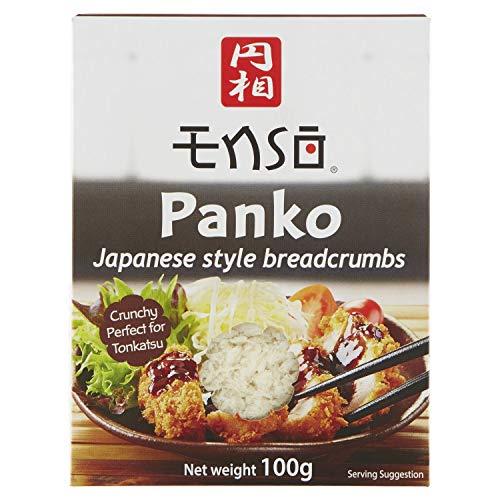 PANKO Giapponese 100gr Ideale per impanatura di tempura e altri pèiatti Giapponesi