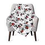 Mickey Minnie Lovely Mouse Baby Blanket for Boys and Girls,30 X 40 Inches,Baby Blanket Super Soft Warm Lovely Design