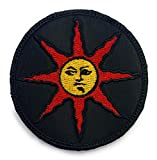 Dark Soul Praise The Sun Patch Dark Soul - Funny Tactical Military Morale Embroidered Patch Hook Fastener Backing