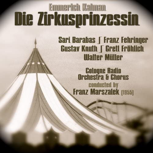 Cologne Radio Orchestra, Franz Marszalek & Sari Barabas
