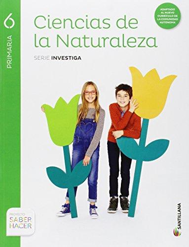 CIENCIAS DE LA NATURALEZA RESTO 6 PRIMARIA