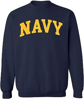us navy crew neck sweatshirt