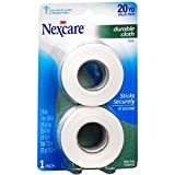 Nexcare Durapore Durable Cloth Tape 1' X 10 yd, 2 ea (Pack of 3)