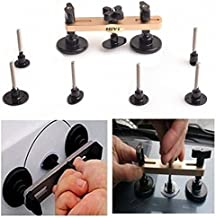 HiYi New Bridge Puller Sets Paintless Dent Removal Tools Pops a dent with 7pcs Different Shapes Tools Car Repair Dent Puller