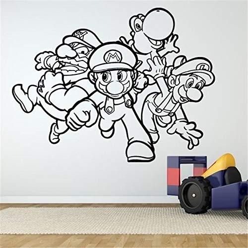 Geiqianjiumai Wanddecoratie spel vinyl kunst sticker muurschildering huisdecoratie slaapkamer jongen leven muur sticker