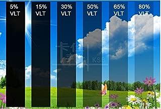 Diversity Wrap - Película antiarañazos para Ventanas solares de Coche o Furgoneta, 1 Capa, Color Negro Oscuro (5%)