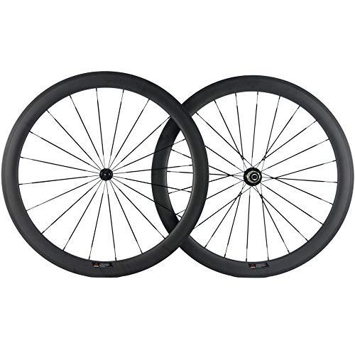 SunRise Bike 25mm U-Shape Wheel 50mm Carbon Fiber Bike Wheelset 700c Clincher