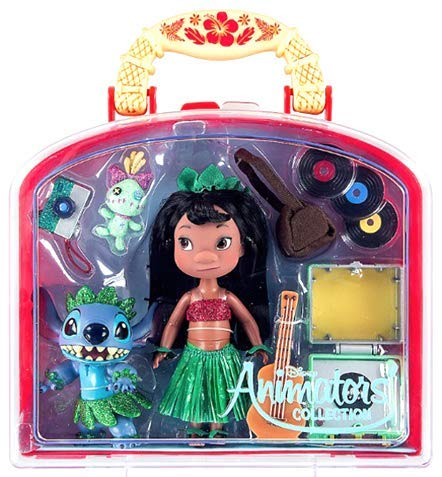"Disney Parks Animators' Collection Mini 5"" Doll Play Set (Lilo)"