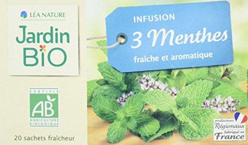 Jardin Bio étic Infusion 3 Menthes