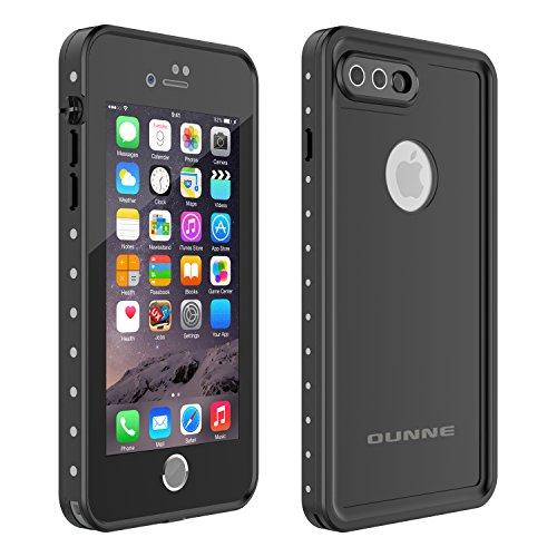 OUNNE iPhone 7 Plus/8 Plus Waterproof Case, Underwater Full Sealed Cover Snowproof Shockproof...