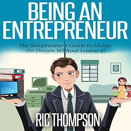 Being an Entrepreneur audiobook cover art