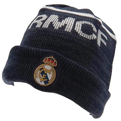 Gorro Real Madrid azul adulto