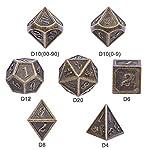DND Metal Dice Set 8