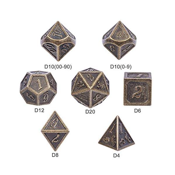 DND Metal Dice Set 5