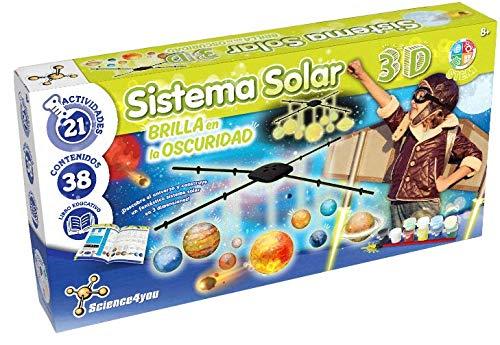 Sistema Solar 3D, Brilla en la oscuridad