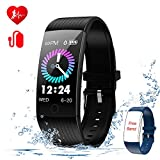 WELTEAYO Fitness Tracker with Heart Rate Monitor Fitness Watch Activity Tracker 1.14 Inch Color Screen...