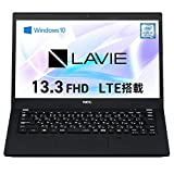 NEC ノートパソコン LAVIE Direct PM(X) 【Web限定モデル】 (ブラック) (Core i5/8GBメモリ/512GB SSD/LTE/Officeなし/Windows 10 Home) YS-NG57L-PX