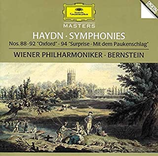 Haydn: Symphonies 88/92/94 -- Bernstein / Wiener Philharmoniker