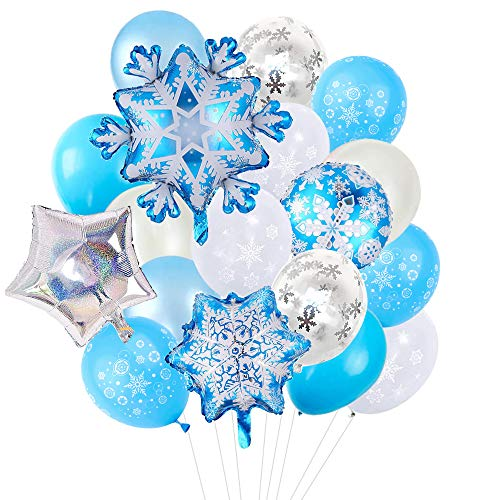 50% off 20pcs Snowflake Foil Balloons Clip the Extra 50% off Coupon, No Promo Code Needed