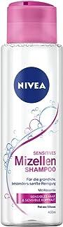 Nivea Champú Mizellen para cabello sensible, sin silicona, 1 unidad (400 ml)