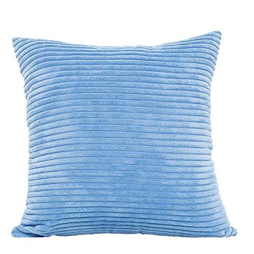 Toruiwa. Taie d'oreiller Housse de Coussin Confortable Décoratif en Microfibre pour Décoration de Maison Voiture Bureau Salon 45 * 45cm