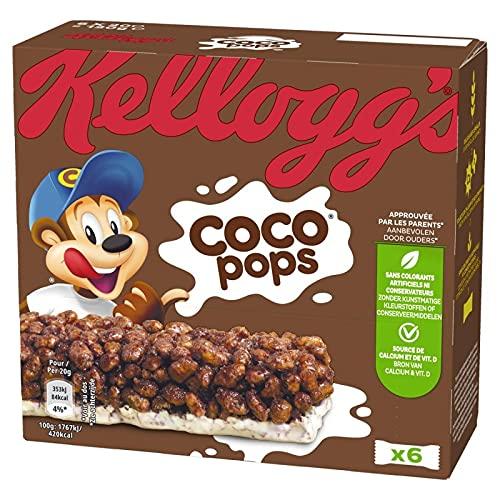 KELLOGG'S - Coco Pops Riz Soufflé Au Chocolat Et Lait 120G - Lot De 4