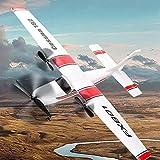 Leslaur FX801 Avion Cessna 182 2.4GHz 2CH RC Avion Avions de vol en Plein air Jouets pour Enfants garçons