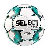 SELECT Brillant Super NFHS V20 Soccer Ball, White/Green, 5