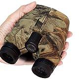 12x25 Compact Binoculars, Binoculars, Pocket Binoculars, Low Light Night Vision, Binocular for Adults and Kids, Easy Focus, high-Power Binocular, Hunting, Hiking, Traveling